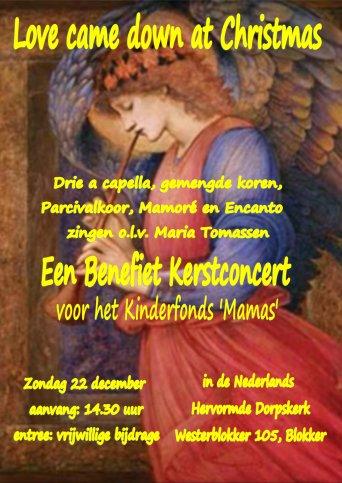 Benefiet Kerstconcert in Blokker (Hoorn NH)